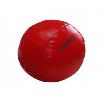 Медбол от 7 кг до 10 кг, диаметр 30 см.