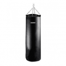 """Кожаный боксерский мешок """"Век"""" 50 кг"""
